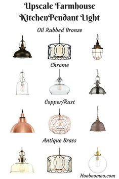 Must have beautiful pendant lights for kitchens in a range of finishes.