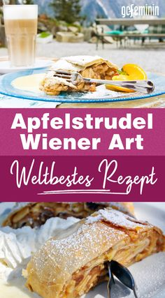 Apfelstrudel nach Wiener Art: Weltbestes Rezept! Cakes By Melissa, Pork Chop Dinner, Mary Recipe, Cake & Co, Healthy Baking, Cake Cookies, Sweet Tooth, Bakery, Food Porn