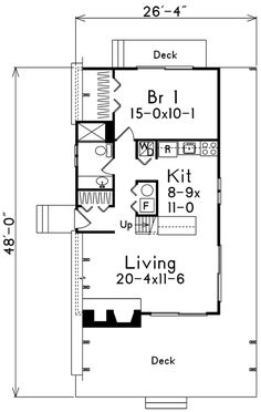 A-Frame Contemporary Retro Level One of Plan 86950