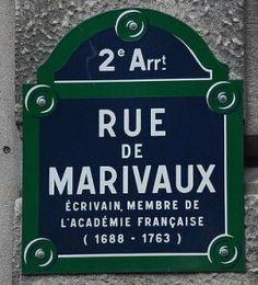 rue de Marivaux - Paris 2ème