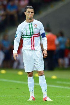 Cristiano Ronaldo Real Madrid Httpcelevscomcristiano - Cr7 hairstyle euro 2012