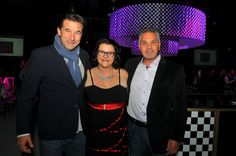 Carlo Greco - President & Publisher and  Samantha Chibani - Social Media Manager/Senior Writer with Billy Baldwin @ Rally For Kids With Cancer Toronto 2014