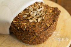 Paleo-Gemüsebrot: Zucchini-Brot (glutenfrei)