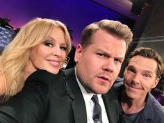 Benedict, James and Kylie
