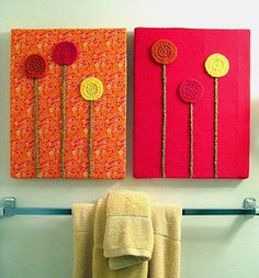 crochet wall art!