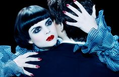 ru_glamour: Patricia Schmid by Miles Aldridge