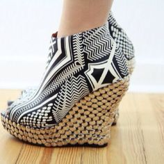 I wear these Jeffrey Campbell wedges ALL THE TIME! Love 'em!