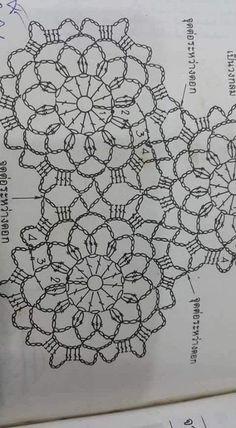 Discover thousands of images about Large crochet motif chart star shape Crochet Stitches Chart, Crochet Motif Patterns, Crochet Diagram, Freeform Crochet, Irish Crochet, Crochet Tablecloth, Crochet Doilies, Crochet Flowers, Floral Flowers
