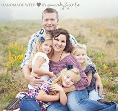 Posing Ideas For A Family Of 6