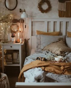 Dream Rooms, Dream Bedroom, Cozy Bedroom, Bedroom Decor, Aesthetic Room Decor, New Room, Cozy House, Sweet Home, Interior Design