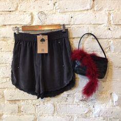 #kooples #mini #short #vintage #bag #whitebrick #closetcircuit