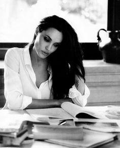 Angelina Jolie, inspiration for Denyalis, Soul Enslaved