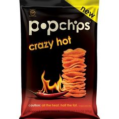 Shop Popchips Potato Chips, Crazy Hot Flavor, share bag 3.5 Ounce (Pack of 12) and other Snack Foods at Amazon.com. Free Shipping on Eligible Items