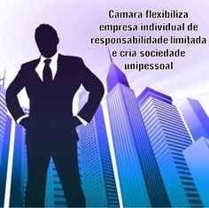 Câmara flexibiliza empresa individual de responsabilidade limitada e cria sociedade unipessoal 2