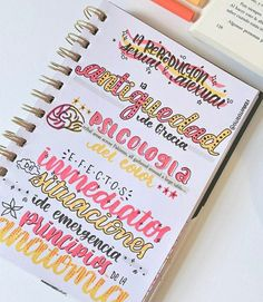 Creating A Bullet Journal, Bullet Journal Notes, Bullet Journal Lettering Ideas, Bullet Journal Aesthetic, Bullet Journal Writing, Bullet Journal School, Bullet Journal Ideas Pages, Bullet Journal Inspiration, Pretty Notes