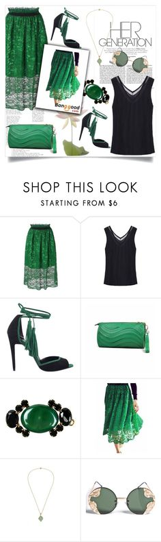 """""""Her generation!"""" by zenabezimena ❤ liked on Polyvore featuring Pierre Hardy, Marni and Spitfire"""