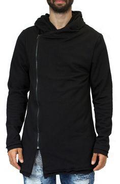 Side Zipper Jacket in Black – Fashion X Freedom