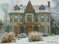 Steampunk Tendencies | The Crocker Mansion in Mahwah, New Jersey, a...