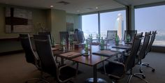 Jumeirah Living World Trade Centre Residences, Dubai - Meeting Room - City View