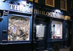 The pretty series 💙 Love Neal St btw . . Soho London nightlife shopfront astrology Neal Street