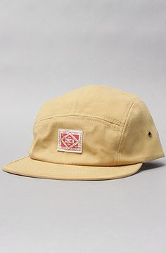 The Trademark 5-Panel Hat in Amber Gold by Obey
