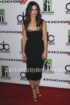 Sandra Bullock comes in White! Dark Navy Cocktail DEB Dress $119.99