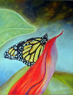 #monarch #butterfly   Art by Jason T. Sunderland