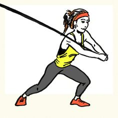33 Resistance Band Exercises You Can Do Anywhere—Woodchoppers