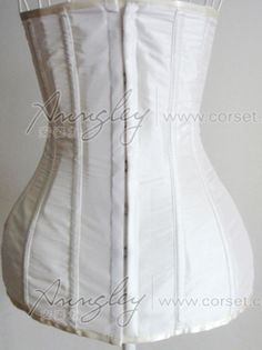 ae55c5fd190 Elegant Long White Full Body Waist Training Underbust Corset Busiter -- Corset  Top