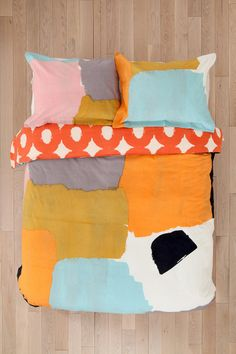 Char-Bea By Ashley G Patches Duvet Cover