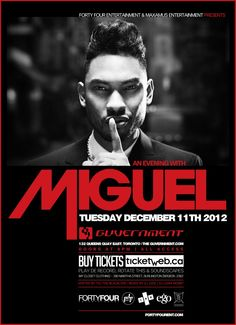 CONTEST: Win the Kaleidoscope Dreams Album and Tickets to See Miguel Live in Toronto on December 11