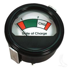Charge Meter 48V Round Analog