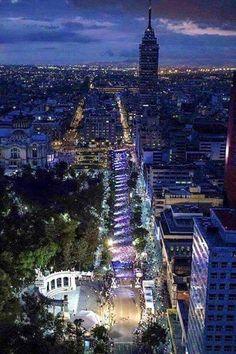 Linda posal de la Ciudad de #Mexico Perla cortes  Mexico city downtown  Tour By Mexico - Google+