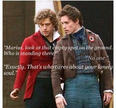 Hahaha! Sorry y'all about all the Les Miserables stuff..I just love it!