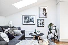 Amenajare scandinavă într-o mansardă de 63 m² | Jurnal de design interior