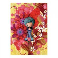 inShop webáruház > Educa Blue Lady, Ketto puzzle 1000 darabos