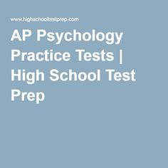 What classes should I take in high school if I want to become a psychologist?