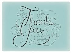 [ pretty + hearts + thank you + #typography ]  hand lettering