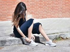 Claudia Peris con #sneakers #LinceShoes