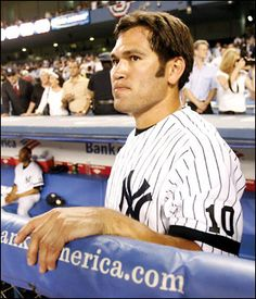 Johnny Damon: my favorite player when he was a member of the Red Sox... After he went to the Yankees, not so much... Johnny Who?