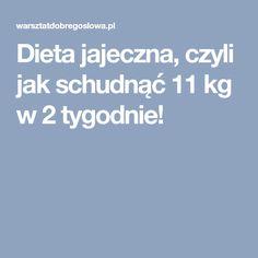 Dieta jajeczna, czyli jak schudnąć 11 kg w 2 tygodnie! Coleslaw, Fitness Inspiration, Healthy Life, Meal Planning, Good Food, Food And Drink, Health Fitness, Meals, Workout