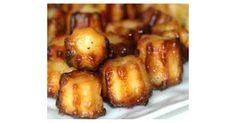 Mini cannelés bacon cantal, une recette de la catégorie Entrées. Plus de recette Thermomix® www.espace-recettes.fr