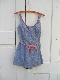 1950s Swimsuit Pin Up Bombshell Rockabilly by electricbluebird, $62.00