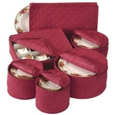Quilted China Keepers Starter Set- bought this for my new China set, and it was perfect!