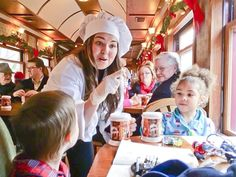 Mount Hood Railroad – Hood River, OR The Polar Express Train Ride in Oregon