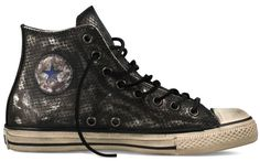 Chuck Taylor All Star Leather Hi SILVER