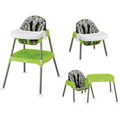 Baby Feeding High Chair Convertible Infant Seat Toddler Booster Table Set Sturdy #BabySeat