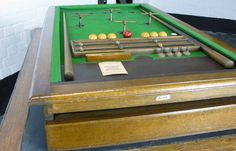 VINTAGE 1930S FULCRUM TABLE TOP BILLIARDS TABLE -billy-hunt-Fulcrum Table Billiards_0003_P1190138_main_636213916872560332.jpg