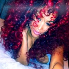 red curls