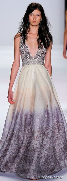 Badgley Mischka Spring Summer 2015 Ready-To-Wear.